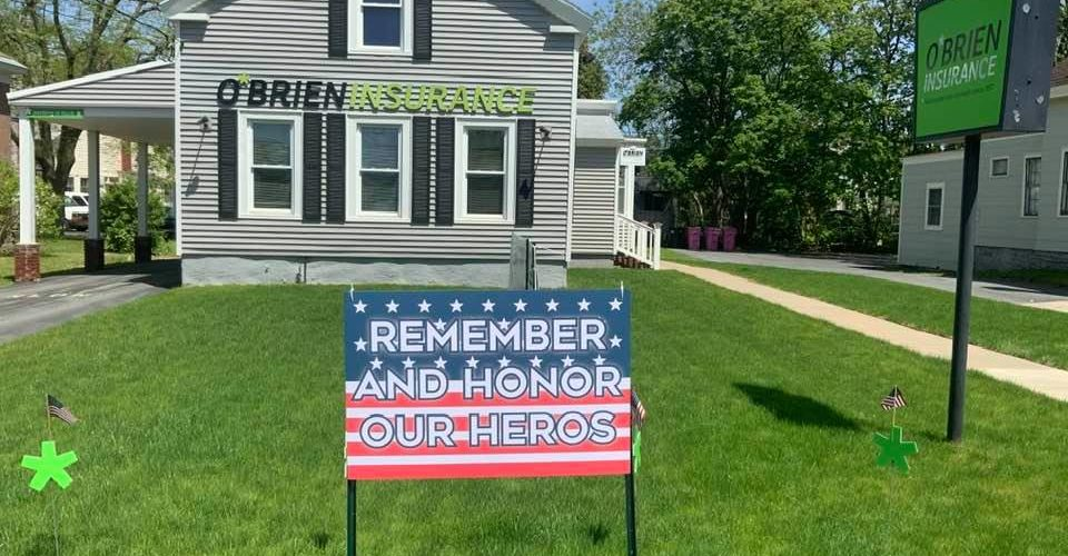 Remember and honor our heroes